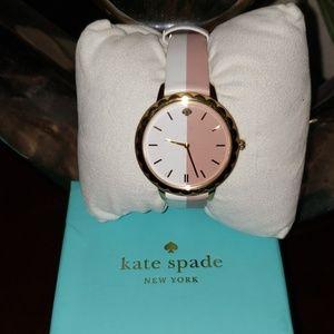 Kate Spade morningside scallop bicolor watch